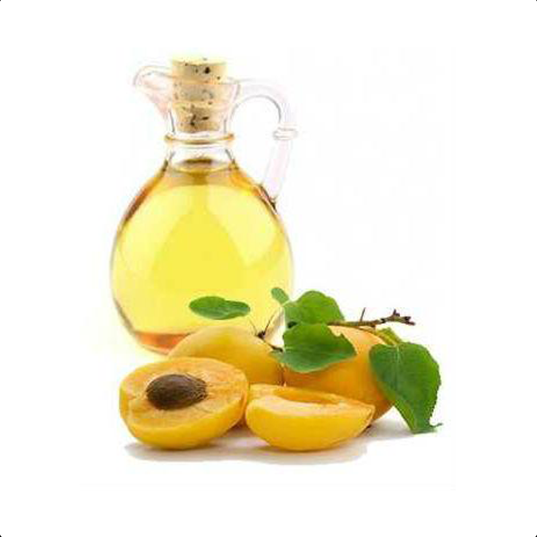 Apricot oil illustration